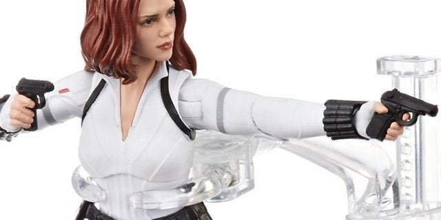 Black Widow Marvel Legends White Costume Figure is Available Now