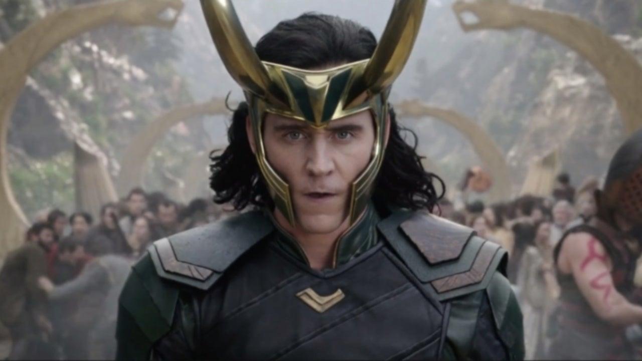 Marvel's Tom Hiddleston Shares First Look At Loki TV Series Prep