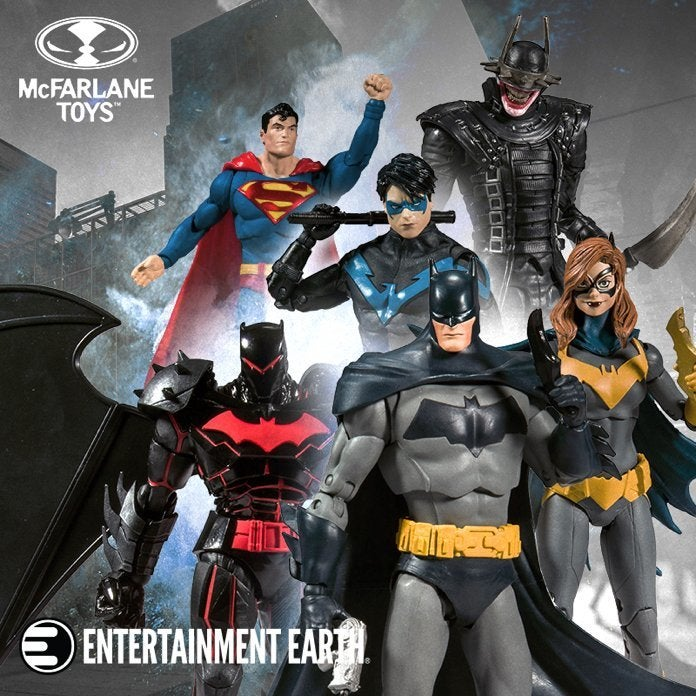 DC Universe Action Figures Justice League MULTIVERSE Batman Superman CHOICE