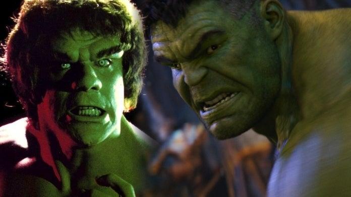 MCU Hulk Mark Ruffalo Lou Ferrigno comicbookcom