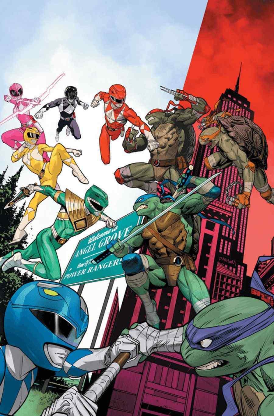 Mighty Morphin Power Rangers Teenage Mutant Ninja Turtles #2