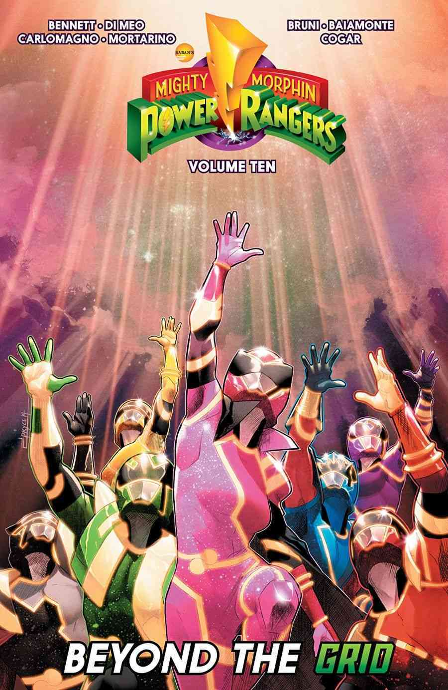 Mighty Morphin Power Rangers Vol. 10 Beyond the Grid