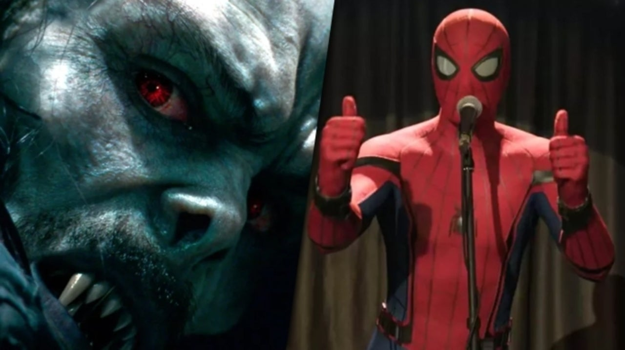 Marvel Fan Fixes Spider-Man Poster in Morbius Trailer