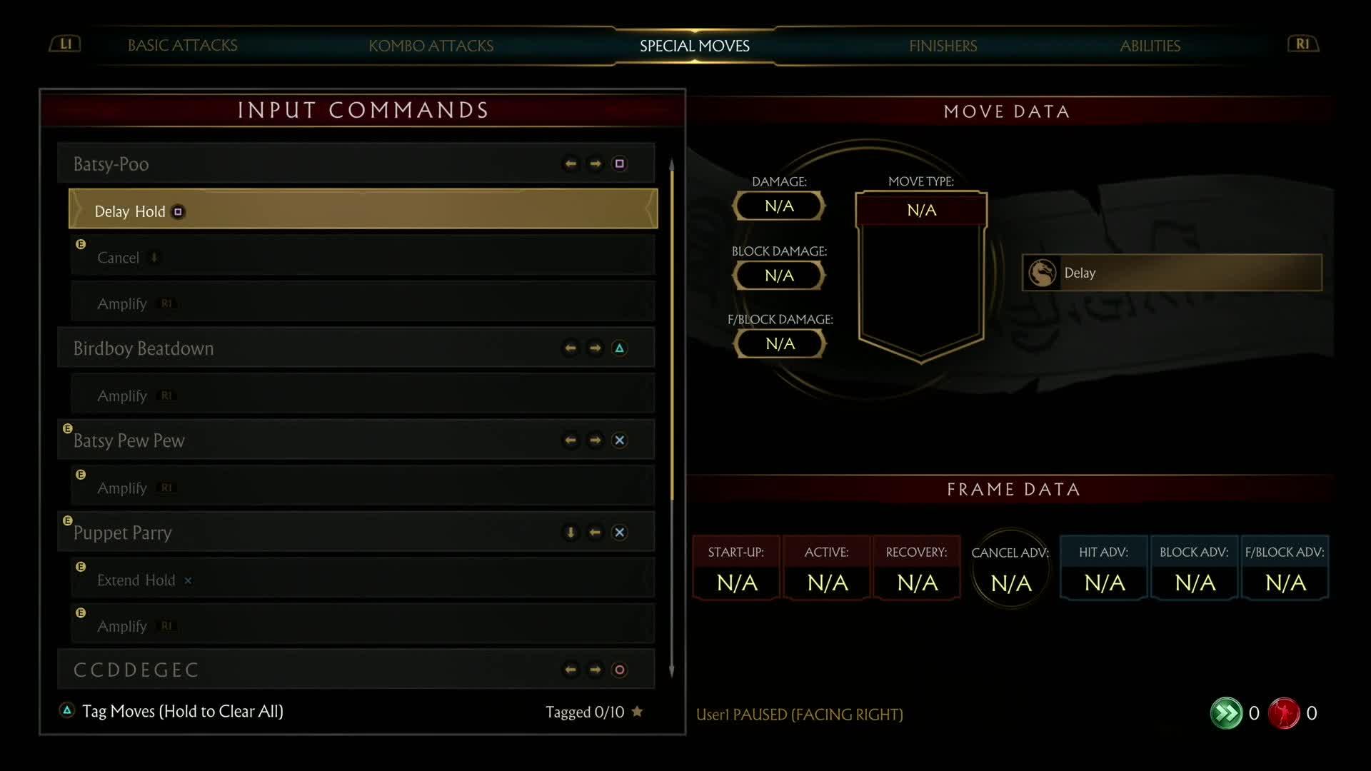 Mortal Kombat 11 Joker Gameplay screen capture