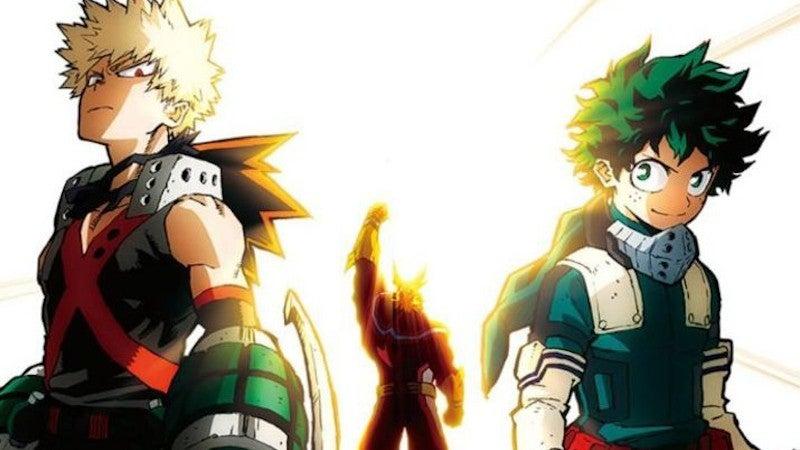 My Hero Academia Deku Bakugo Share One For All Powers