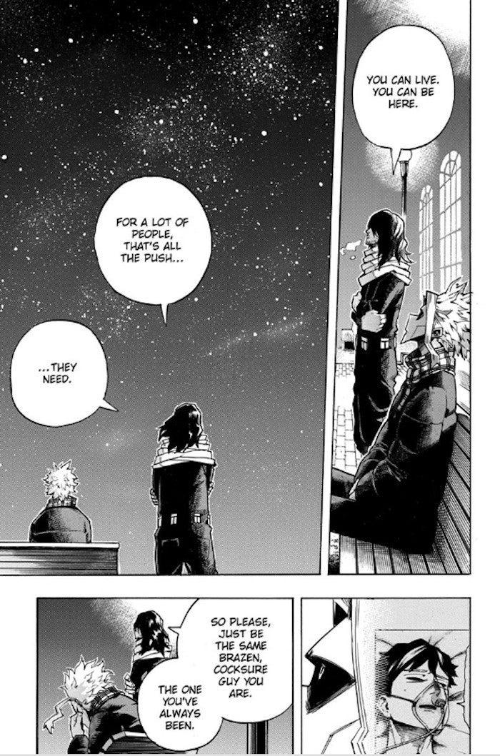 My Hero Academia Manga 257 All Might Death Foreshadow