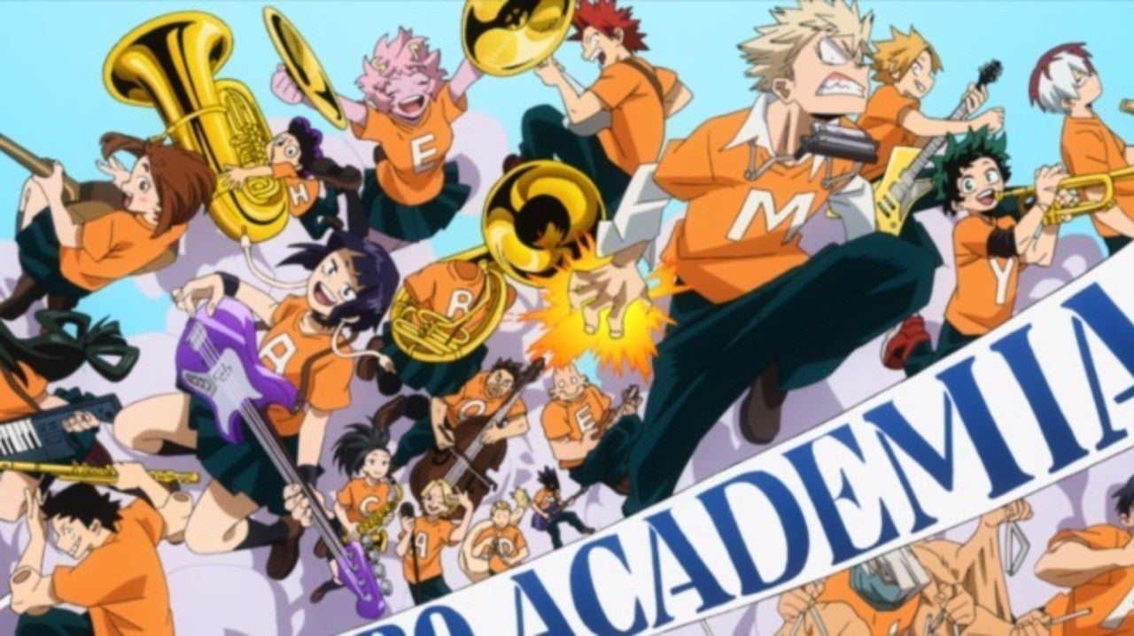 Watch: My Hero Academia Season 4 Shares New Opening, Ending Themes