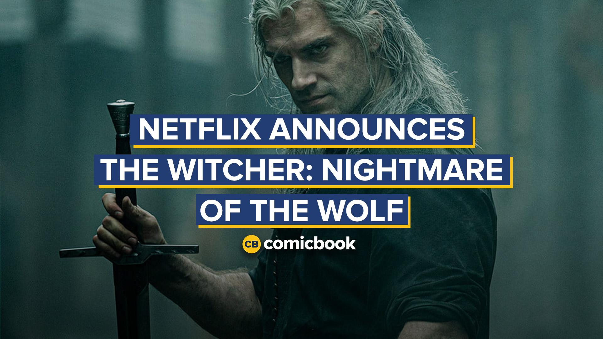 Netflix Announces 'The Witcher: Nightmare of the Wolf' screen capture