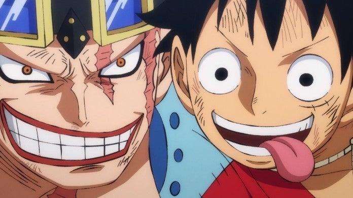 One Piece Luffy Kid Wano Udon