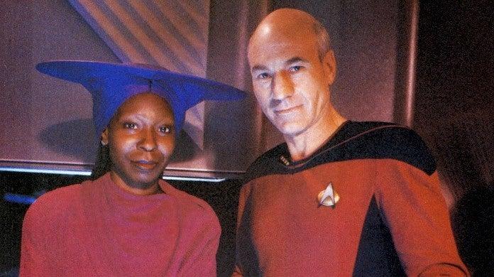 Patrick Stewart Invites Whoopi Goldberg Star Trek Picard Season 2