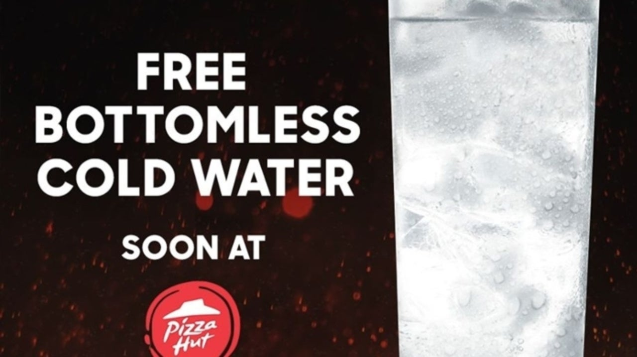 Pizza Hut Ad Offering Bottomless Water Goes Viral