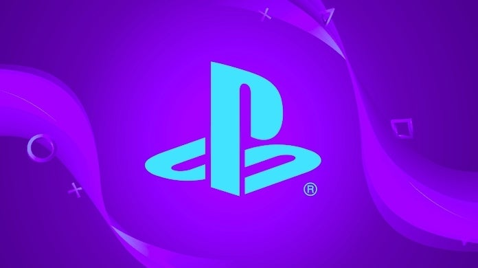 playstation blue and purple