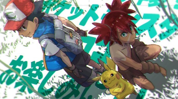 Pokemon Movie Coco Tetsuo Yajima Art