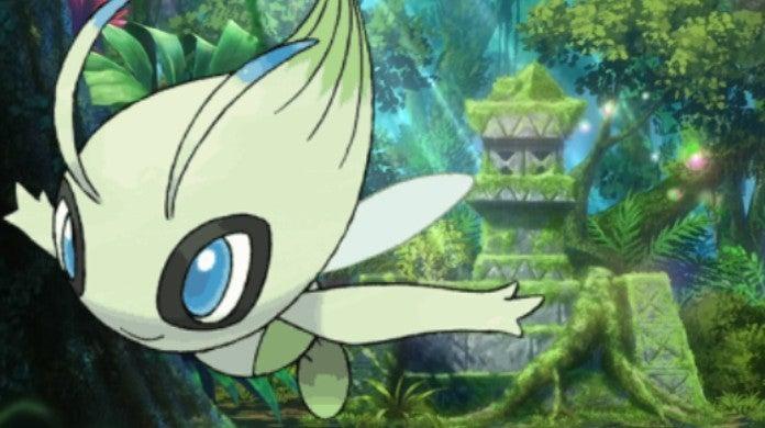 Pokemon the Movie Coco Celebi