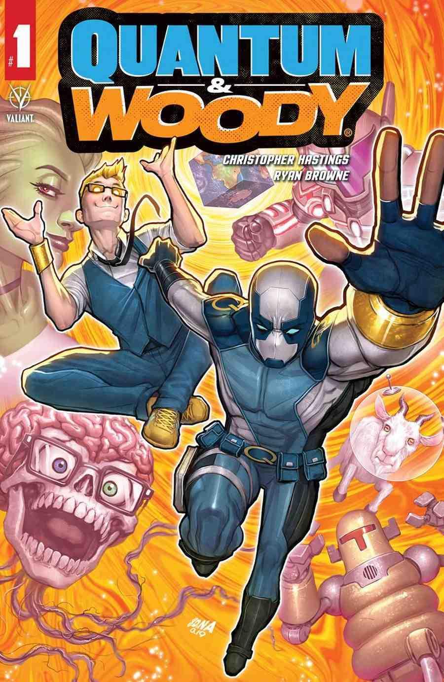 Quantum & Woody #1
