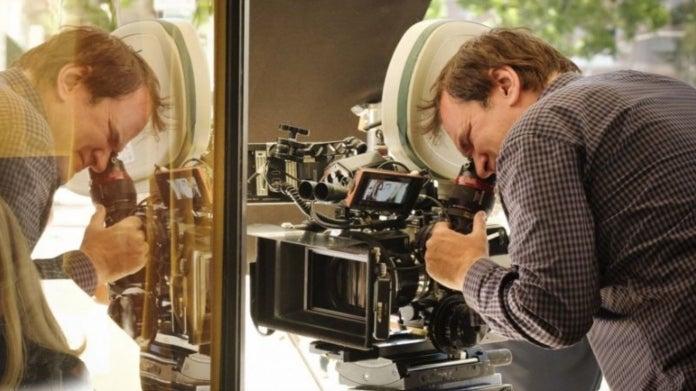 Quentin Tarantino directing