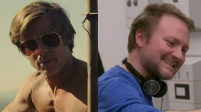 rian-johnson-brad-pitt