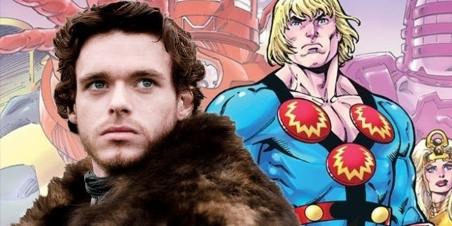 Eternals: First Look at Richard Madden as Marvel's Ikaris