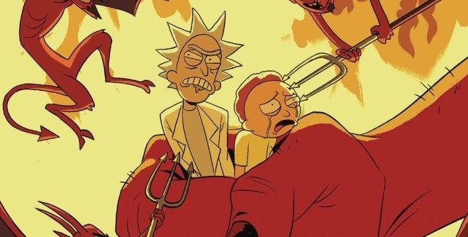rick and morty go to hell comic oni press
