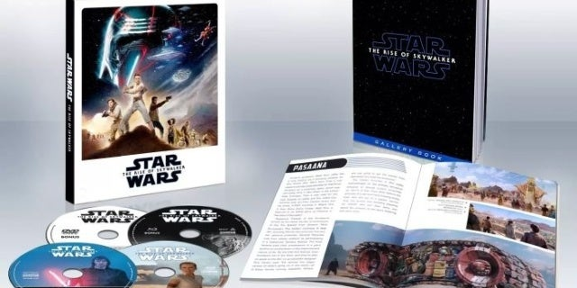 Star Wars: The Rise of Skywalker Target Exclusive Home Video Details Released