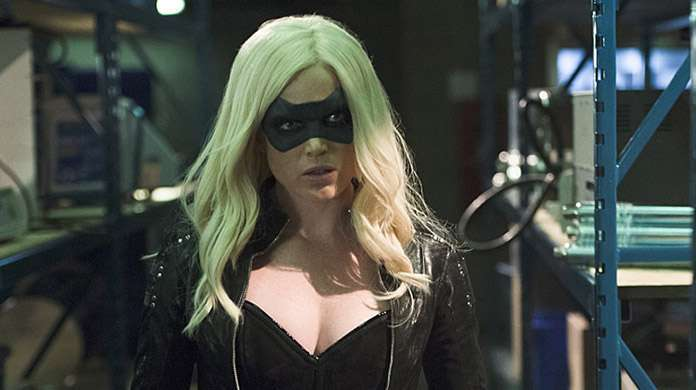sara black canary arrow