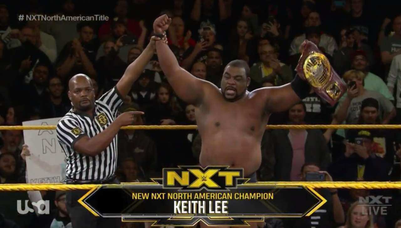 Keith Lee Defeats Roderick Strong for the NXT North American Championship