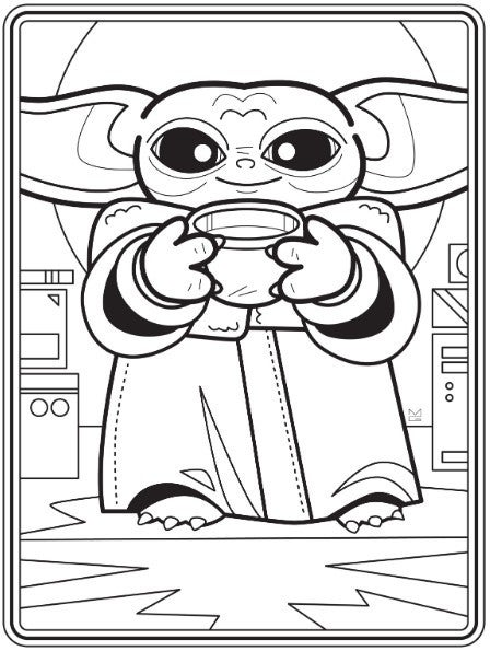 - New Baby Yoda Coloring Book Is Free To Download Right Now