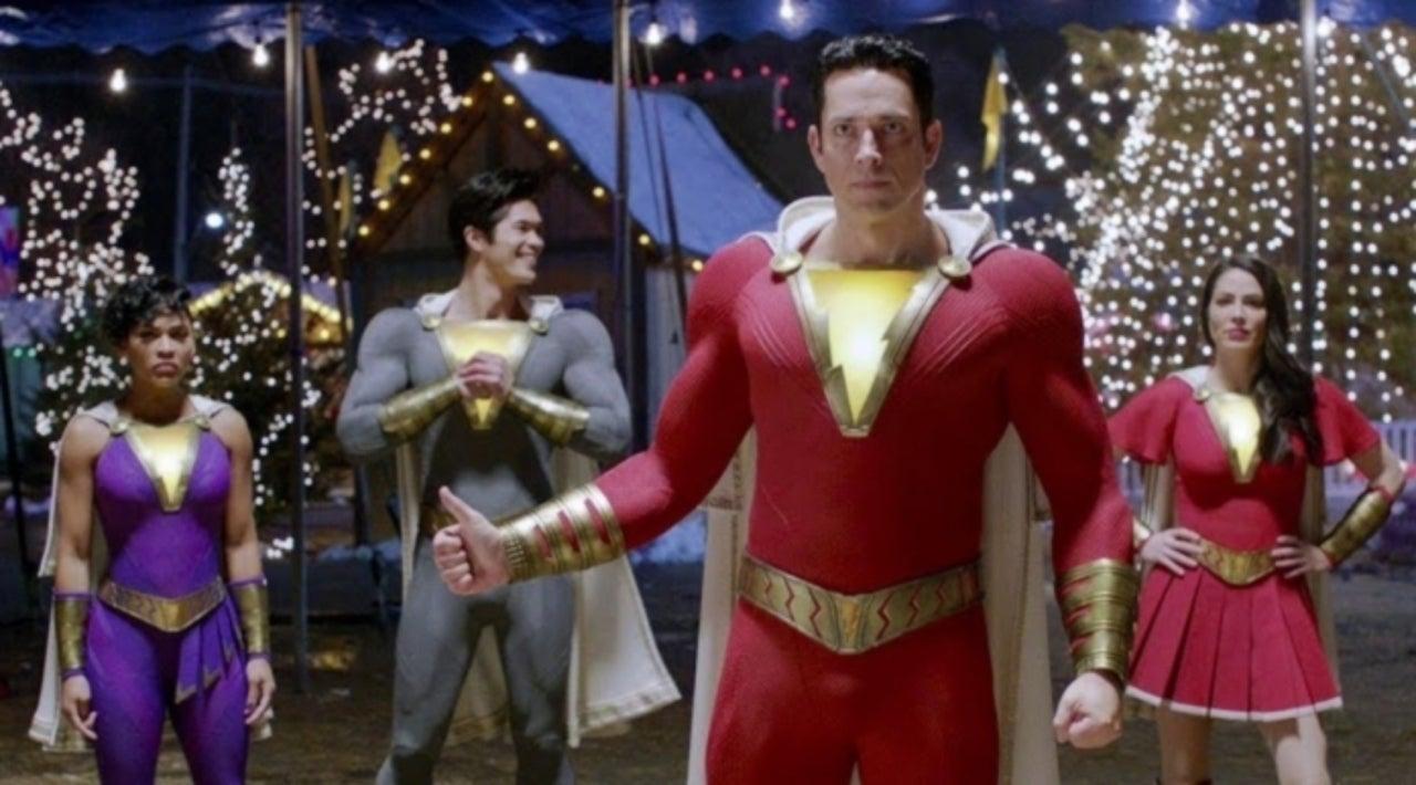 Shazam! 2: Zachary Levi Teases More of the Superhero Shazamily in Sequel