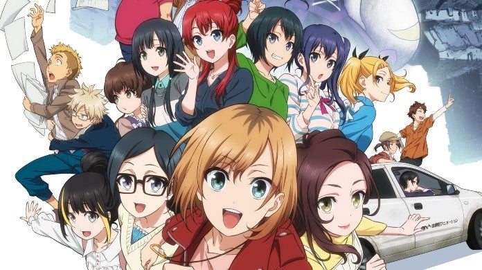 Shirobako Movie Poster