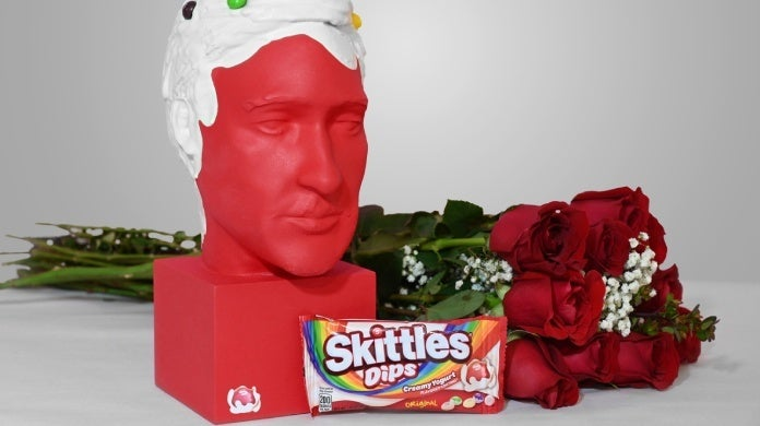 skittles dips valentines day