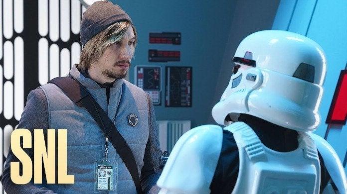 SNL Adam Driver Undercover Boss Kylo Ren Star Wars