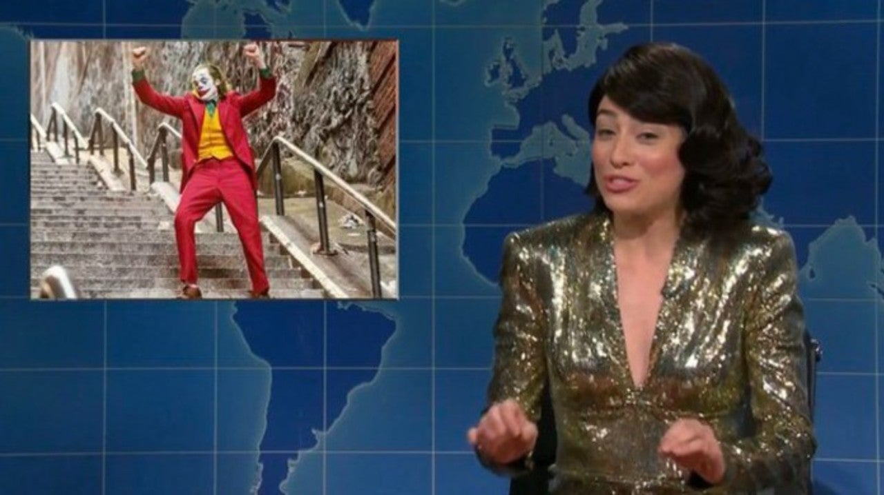 SNL's Weekend Update Parodies Joker with White Male Rage Song