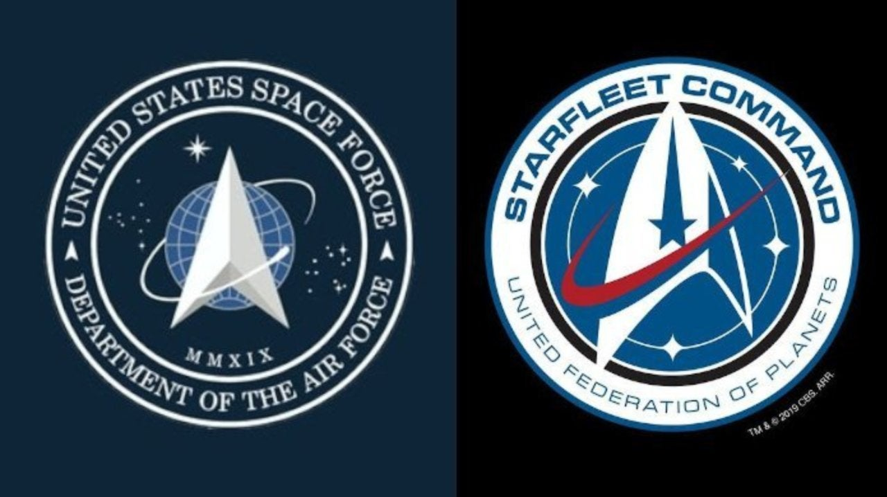 U.S Space Force Issues Statement That the Origin of Their Seal Is Not Star Trek