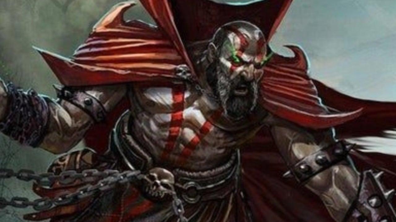 Spawn Meets God of War in New Playstation Fan Art