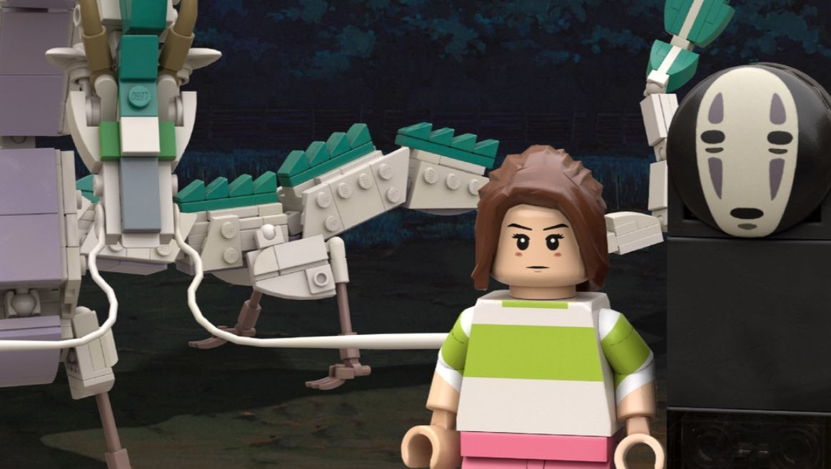 spirited away lego
