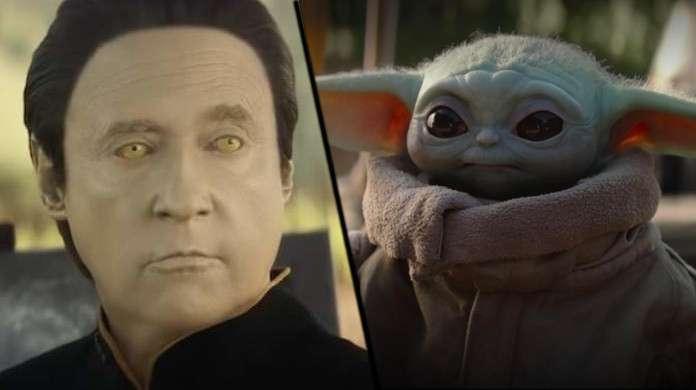 Star Trek Data Star Wars Baby Yoda