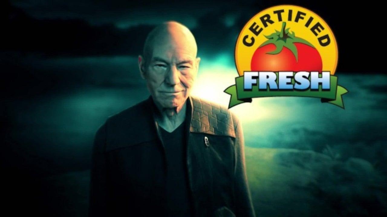 Star Trek: Picard Earns Certified Fresh Status on Rotten Tomatoes