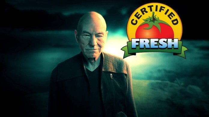 Star Trek Picard Reviews Rotten Tomatoes Score Fresh