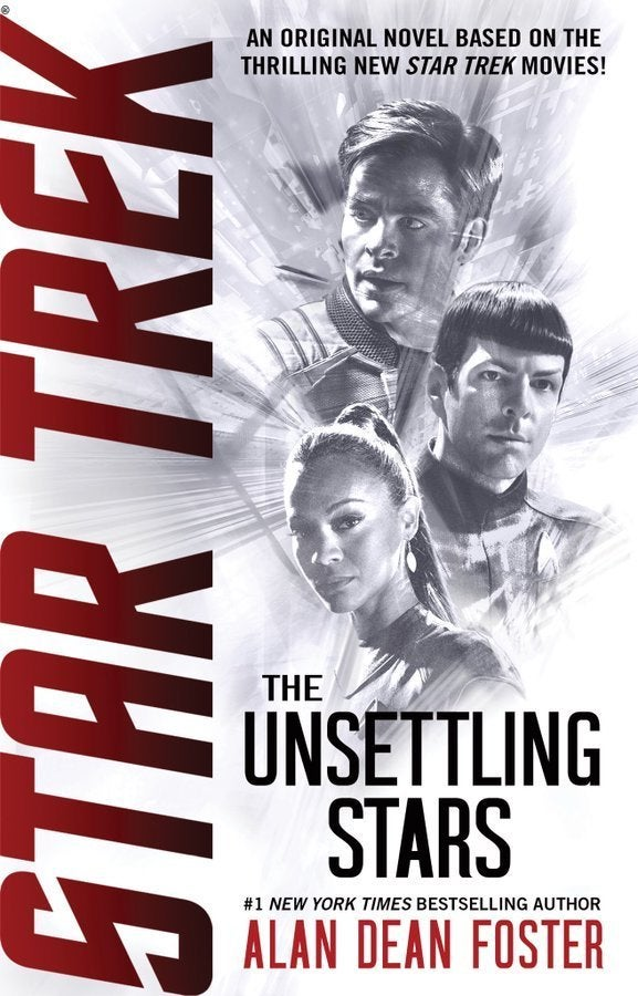 Star Trek The Unsettling Stars Cover