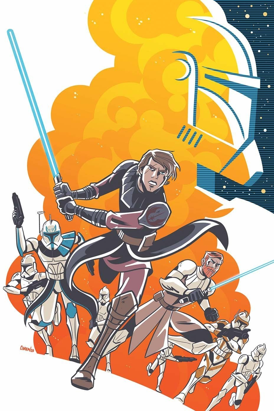 star wars clone wars comic idw