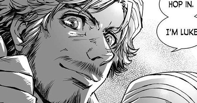 star wars manga luke