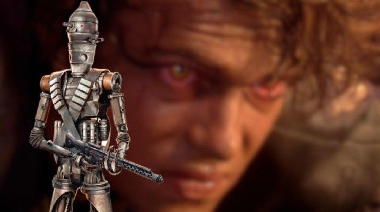 Star Wars The Mandalorian Meme Puts Ig 11 On The High Ground Over Anakin Skywalker