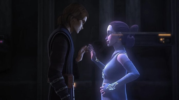 star wars the clone wars anakin padme pregnant