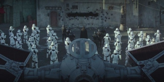 Star Wars The Mandalorian Chapter 8 Finale 501st Legion Cosplayers Cameo