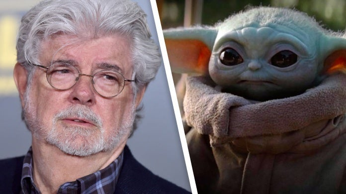 star wars the mandalorian george lucas baby yoda