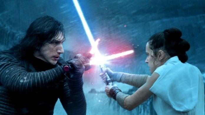 Star Wars The Rise of Skywalker Rey Kylo Ren Ben Solo