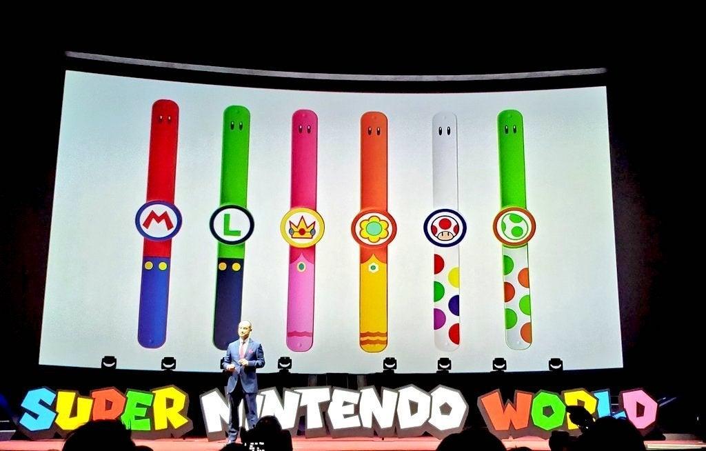 Super Nintendo World Power Up Bands