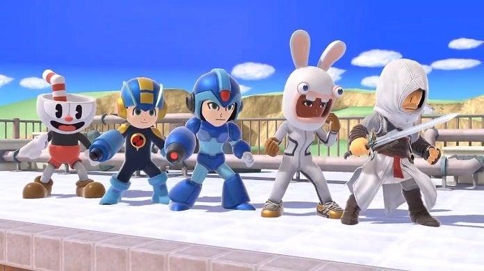 Super Smash Bros Ultimate Mii Fighter Skins