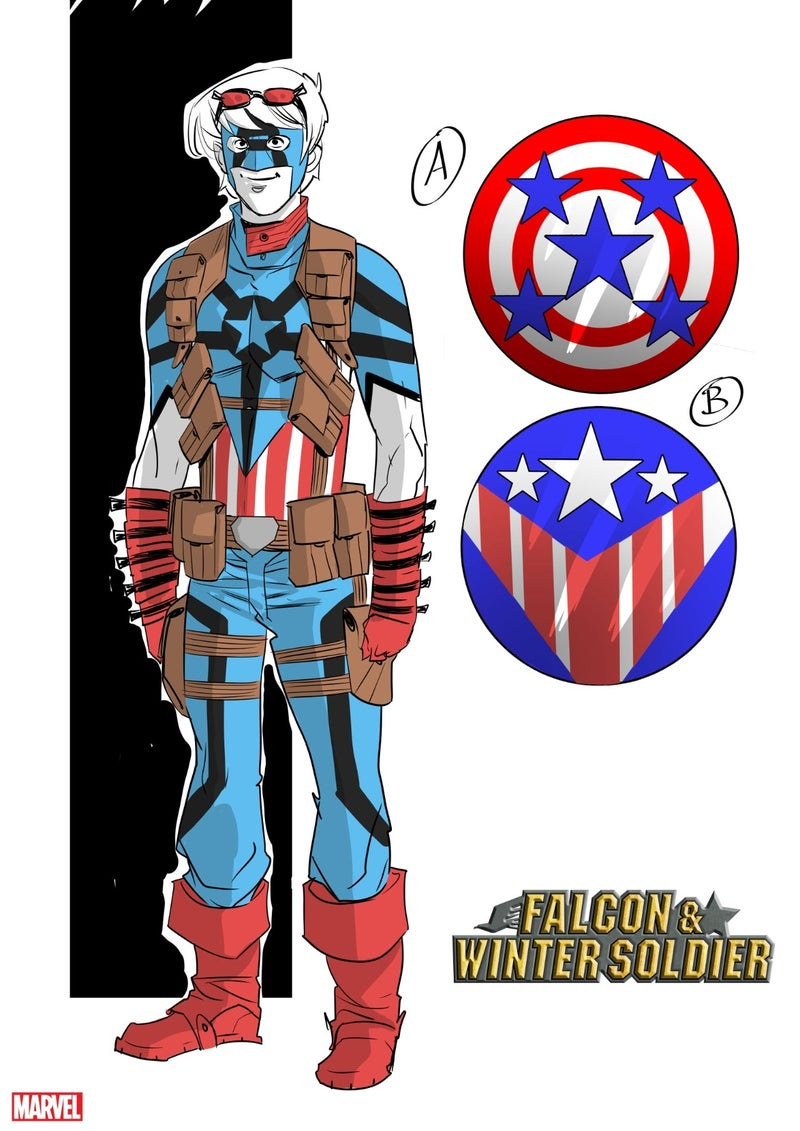 the natural falcon winter soldier