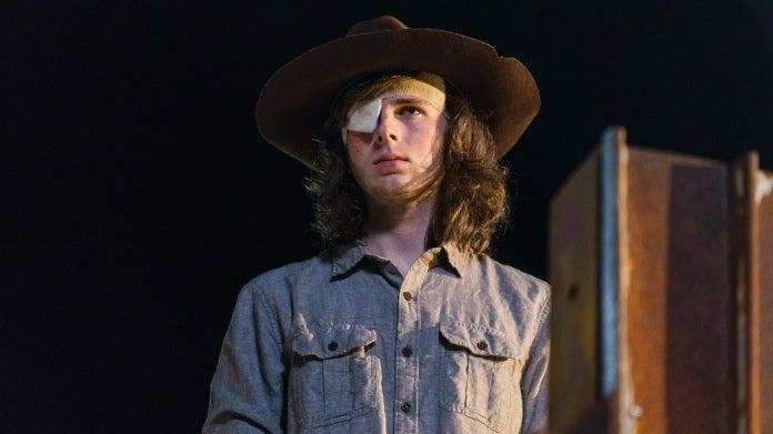 The Walking Dead Carl Grimes Chandler Riggs